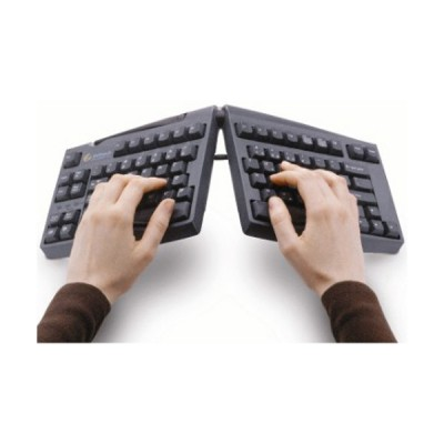 Clavier Goldtouch ajustable